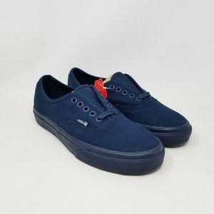 Vans Authentic Kitchen Navy Sneakers Men's Sz 6.5